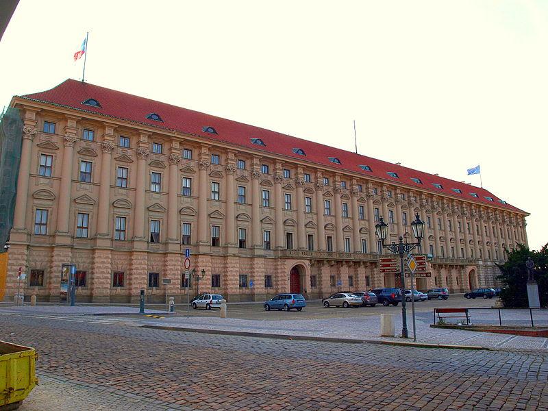 Prica papuče od testa i  Palata Černin u Pragu