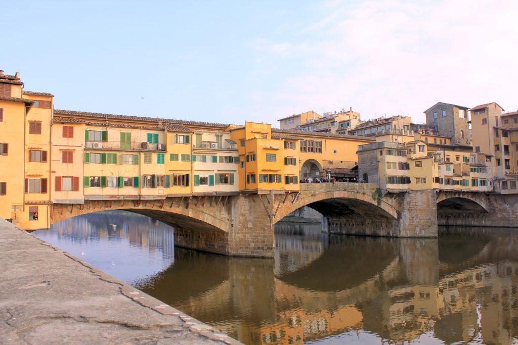 Najstariji sačuvani most Ponte Vekio - Firenca