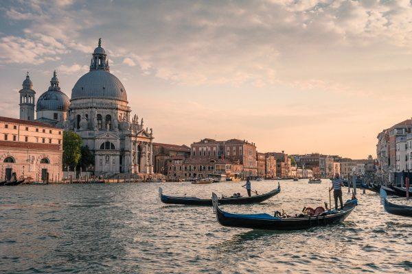 Putovanje Venecija gondole
