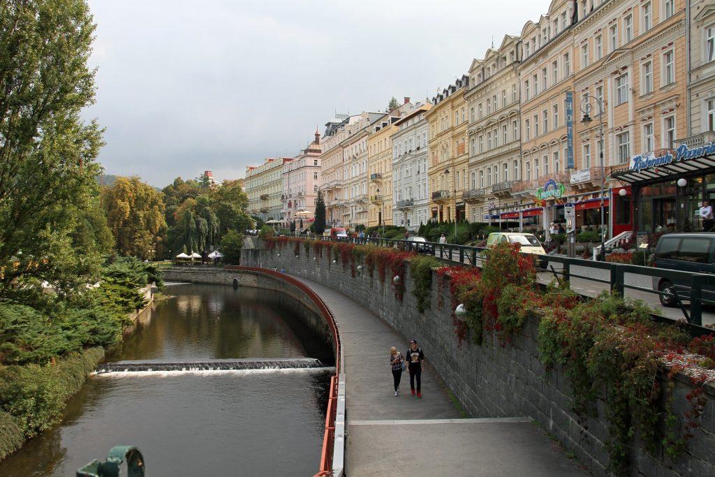 Karlove Vari banja Češka Republika