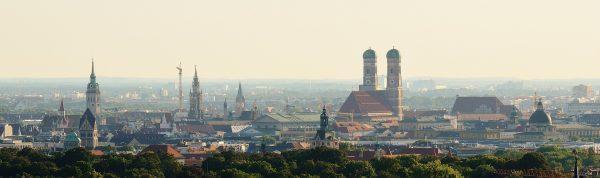 Minhen panorama grada