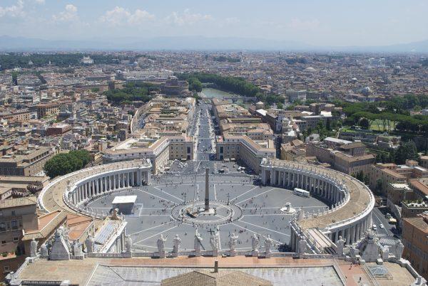 Avio karte Beograd Rim trg svetog Petra Vatikan