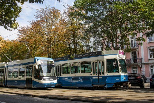 Avio karte Beograd Cirih tramvaji stari i novi