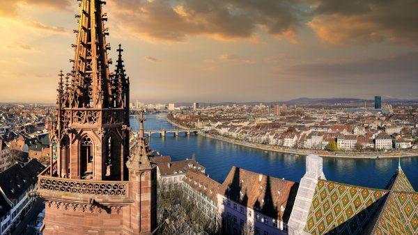 Avio karte Niš Basel katedrala panorama