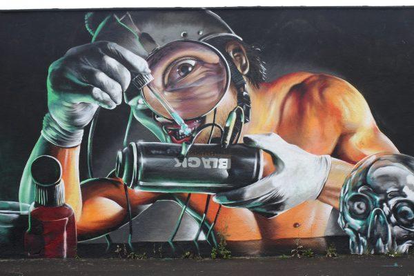 Avio karte Niš Dortmund ulicni grafiti