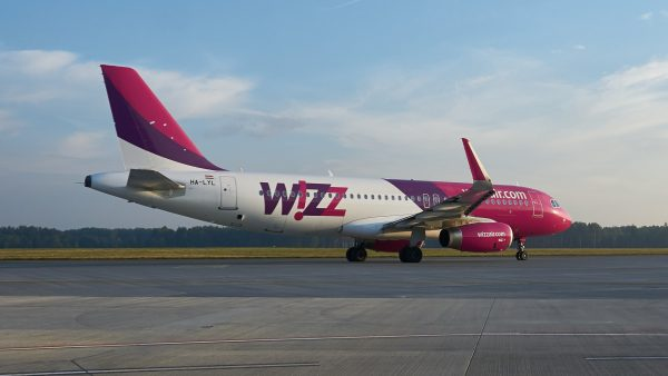 Wizz Air avion - aviokarta.rs