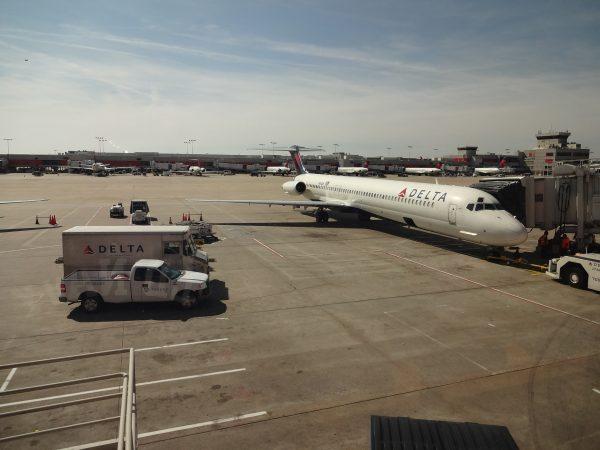 Atlanta aerodrom Delta terminal