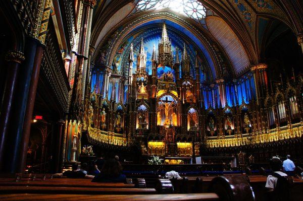 Avio karte Beograd Montreal basilika Church Notre-Dame