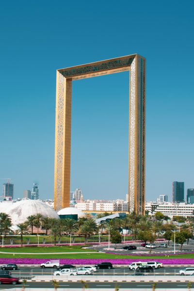 Avio karte Beograd Dubai zgrada zlatni frejm