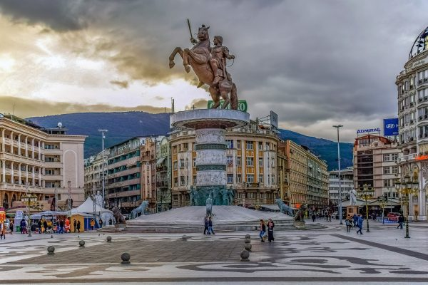 Avio karte Beograd Skoplje spomenik aleksandru makedonskom